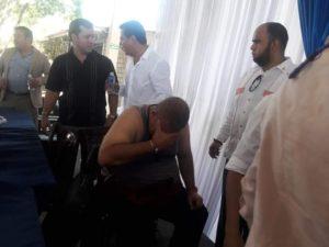 insurección legislativa deja hospitalizados