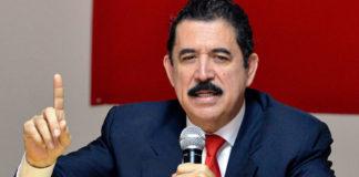 Ex presidente Manuel zelaya niega habre recibido soborno