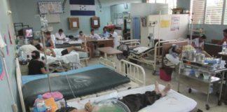 salas de emergencia abarrotadas por dengue