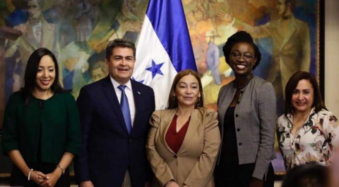 Firma de acuerdo Honduras